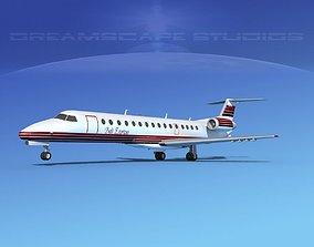 Embraer ERJ-140 Bali Express 3D model