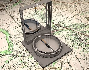 3D army compass
