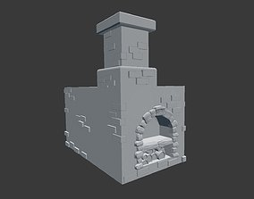 Russian furnace 3D print model