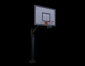 Basketball hoop - Gest 3D model