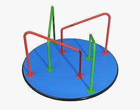 3D Carousel Merry-go-round 04