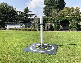 3D print model SpaceX inspired edf rocket