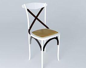 lounge 3D White chair