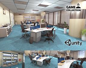 3D asset Office Interior 2
