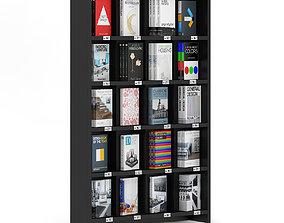 3D Bookstore Shelf