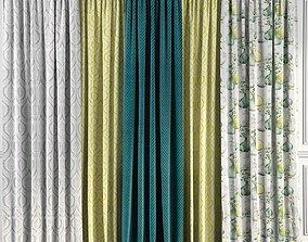 Curtain Set 53 3D