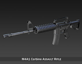 3D model Colt M4A1 Carbine Assault rifle