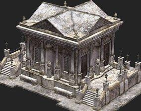3D Temple Church Monastery