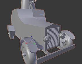 Tintin Military Car 3D printable model