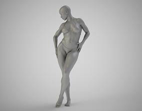 Standing with Legs Crossed 3D printable model