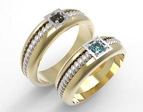 Model 110 Wedding Bands model