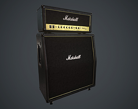 3D asset Marshall AMP PBR Spec Rough