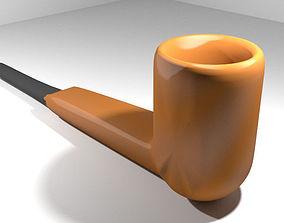 Smoking Pipe - Panel 3D