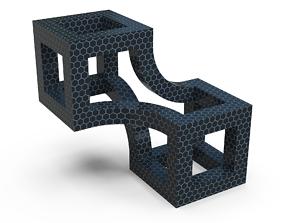 3D print model Wood Decoration Cube