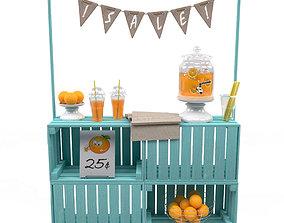 3D model Lemonade stand