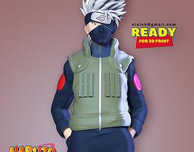 Kakashi - Naruto Fanart anime 3D print model