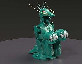 Shiryu Dragon Cloth 3D