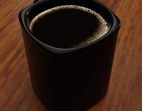 3D asset Cup of Coffee