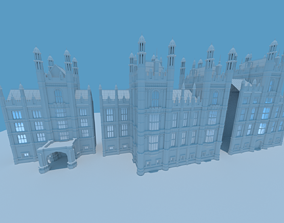 3D model London city set part-7