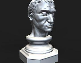 Gaius Julius Caesar bust 3D print model
