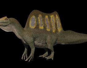 Spinosaurus aegyptiacus 2020 3D asset rigged