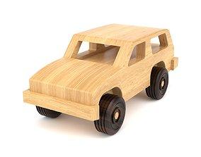 3D Wooden toy car 21