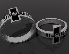 cross ring crossring 3D printable model