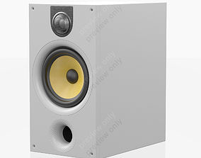 3D Bowers and Wilkins 685 S2 White