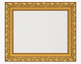 Frame picture gold v7 3D