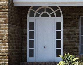 hall 3D Entrance Door