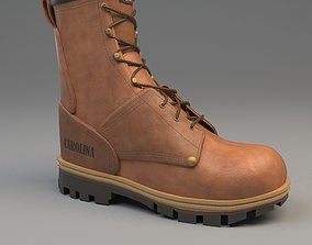 Leather boot 3D model