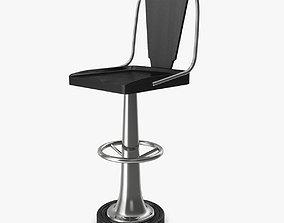 3D Soane Britain Yacht bar chair