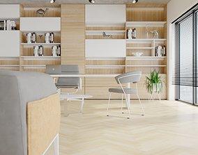 Suit Office Interior 3D model