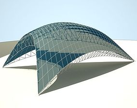 3D Metallic structure truss 09