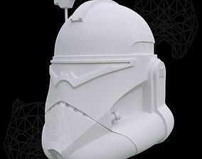 3D printable model Commander Wolffe Helmet