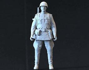 Soviet soldier 3D printable model soviet