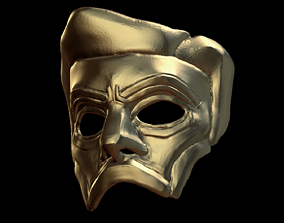 The Libertarian Mask 3D printable model