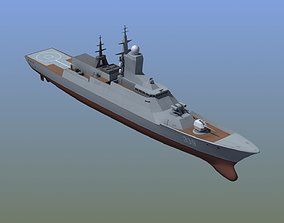 3D model Steregushchiy Corvette