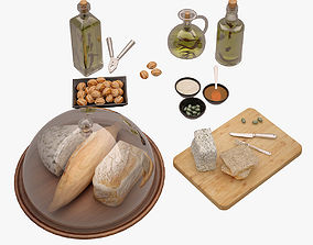 3D model Bread Board 001