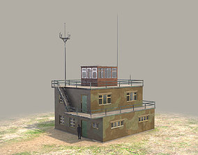 3D asset Airport ControlRoom 01