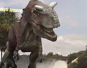 3D Carnotaurus Rigged 2018
