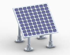 3D printable model Stylish Solar Panel