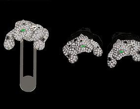 cufflinks POCKET GEM 3D printable model