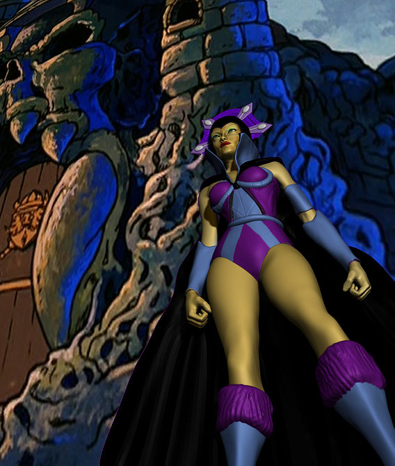 Evil Lyn from Masters of the universe