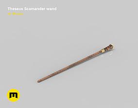 3D printable model Theseus Scamander wand