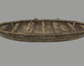 3D asset boat 4