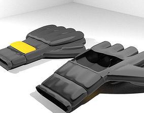 Sport Gloves - Mix Martial-Art 3D model