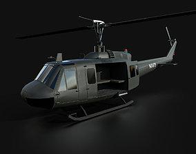 3D model UH-1 Huey