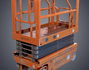 3D asset Industrial lift platform