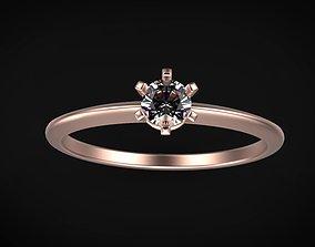 solitaire ring model gem size 3 model fashion